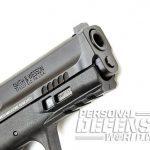 Smith & Wesson M&P9 M2.0 pistol muzzle