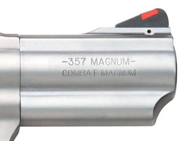 Smith & Wesson Model 66 Combat Magnum Revolver barrel