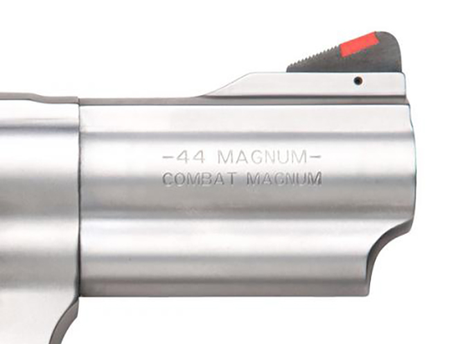 Smith & Wesson Model 69 Combat Magnum Revolver barrel