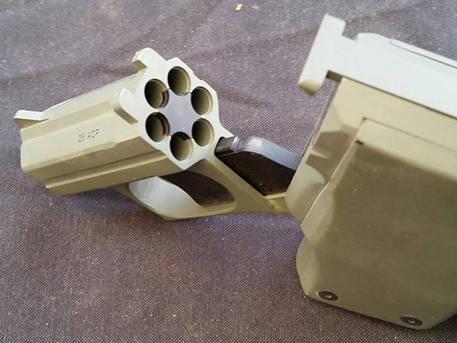 Standard Manufacturing S-333 Volleyfire cylinder mouse guns