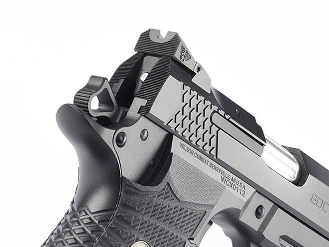Wilson Combat EDC X9 pistol rear sight