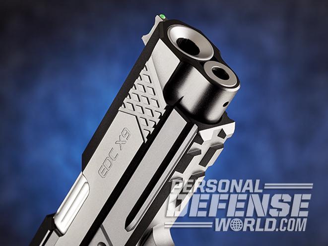 Wilson Combat EDC X9 pistol muzzle