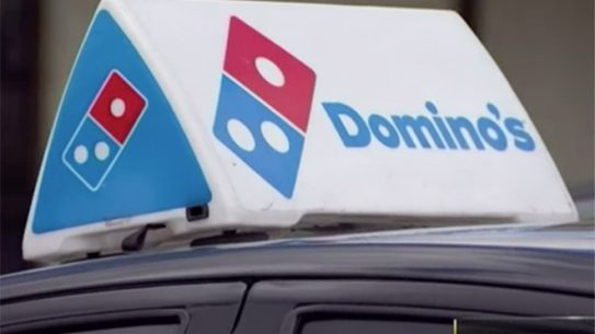 domino's driver armed robbery