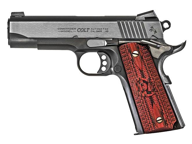 Colt Lightweight Commander 1911 pistol