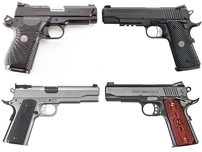 1911 pistol shooting