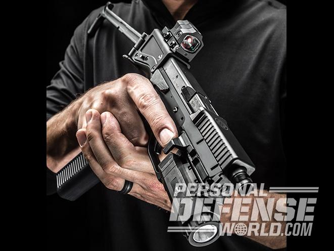 B&T USW pistol carbine lead