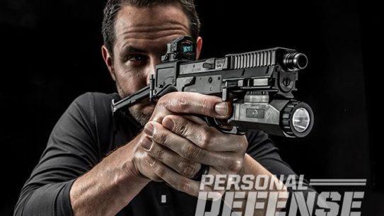 B&T USW pistol carbine test fire