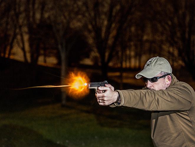 Bart Bauer home defense gun