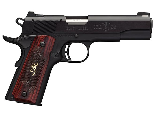 Browning 1911-22 Black Label Medallion 1911 pistol