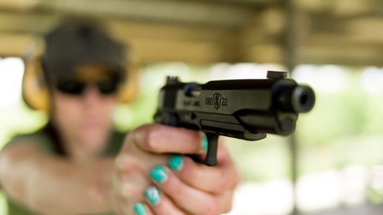 Browning Black Label 1911-22 pistols
