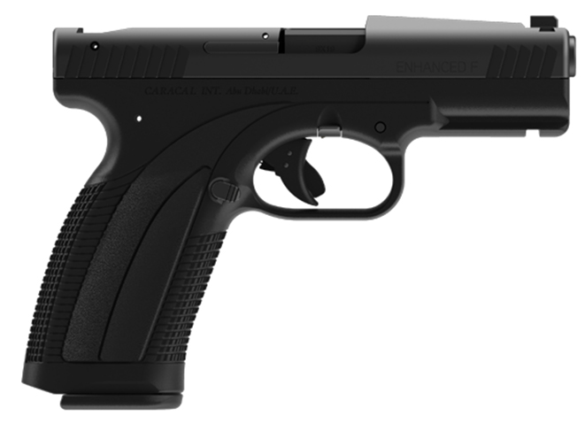Caracal Enhanced F pistol left profile