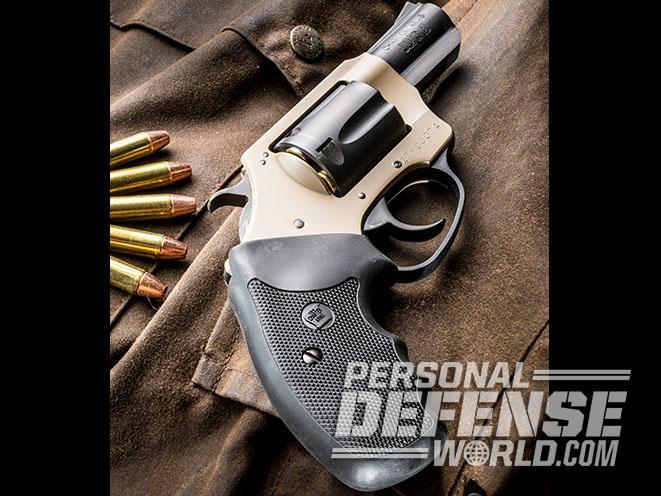 Undercover Lite Earthborn revolver left angle