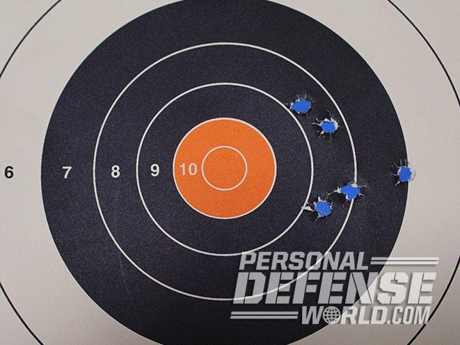 Undercover Lite Earthborn revolver target