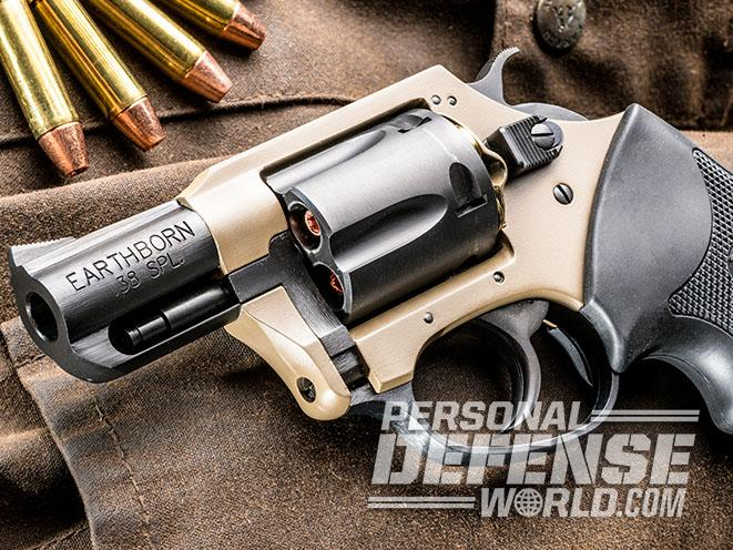 Undercover Lite Earthborn revolver trigger