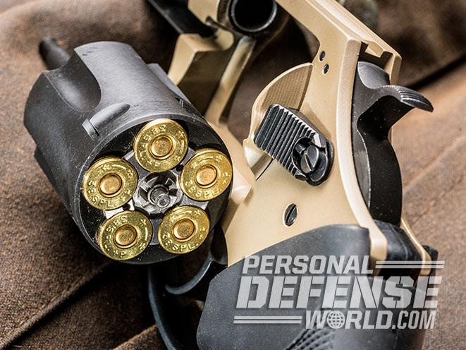 Undercover Lite Earthborn revolver cylinder