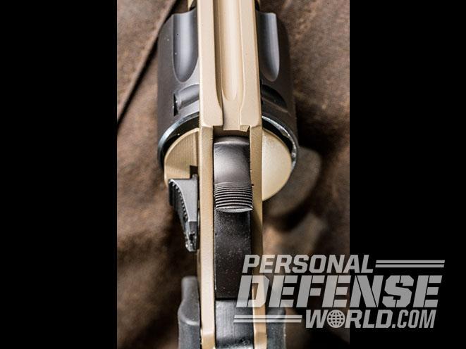 Undercover Lite Earthborn revolver top view