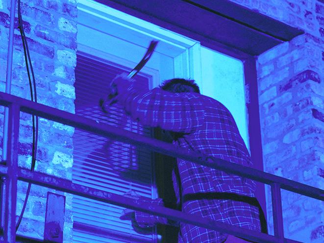 deadly force window break-in