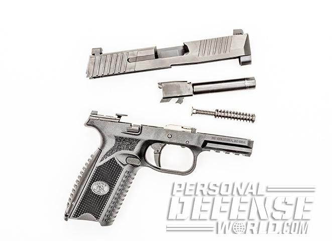 FN 509 pistol stripped