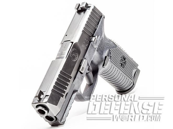 FN 509 pistol magazine release