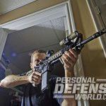 home defense carbine rifle aiming