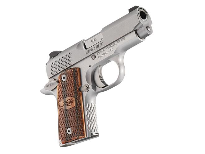 Kimber Micro 9 Raptor concealed carry handguns