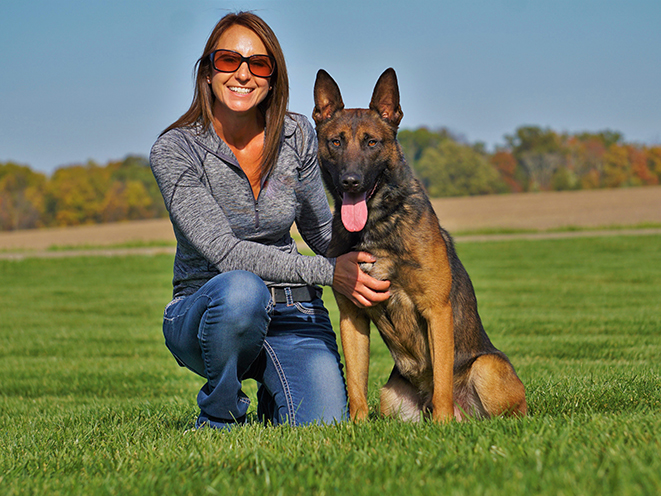 Personal Protection Dog female owner