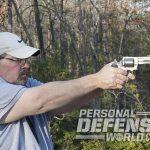 Ruger GP100 revolver test fire