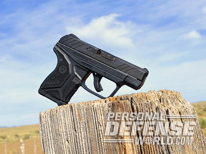 Ruger LCP II pistol left ANGLE