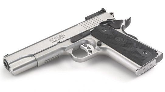 Ruger SR1911 10mm left angle