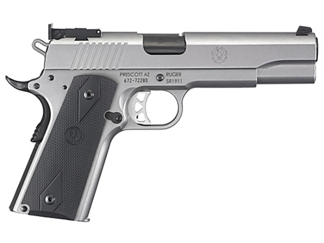 Ruger SR1911 10mm right profile