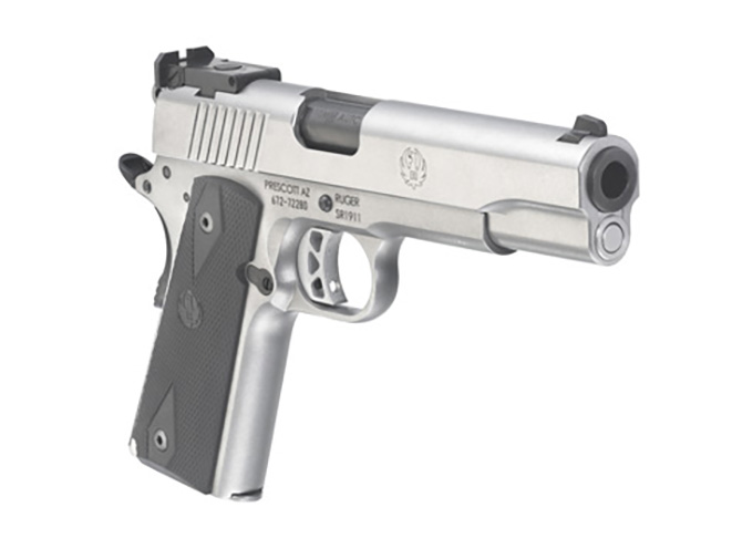 Ruger SR1911 10mm right front angle