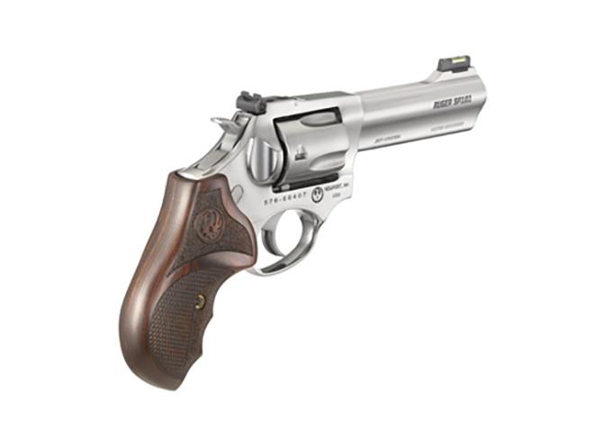 Ruger SP101 Match Champion revolver rear profile