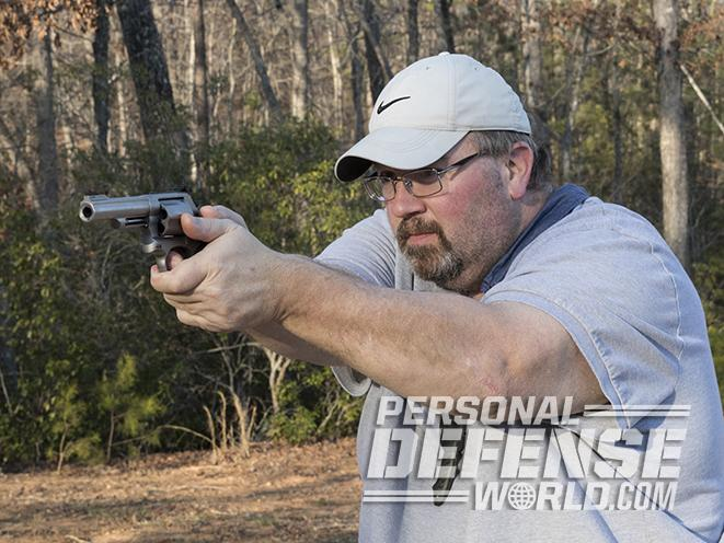 S&W Model 69 revolver test