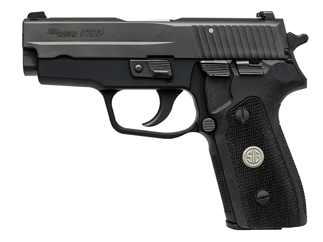 Sig Sauer P225-A1 concealed carry handguns