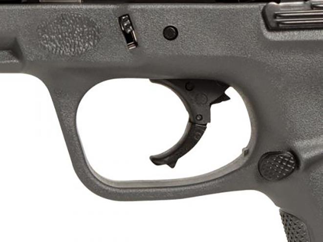Smith & Wesson SD Gray Frame pistol trigger