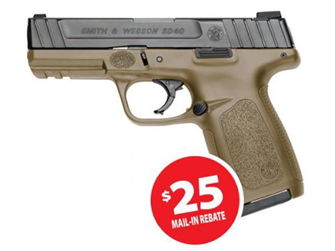 Smith & Wesson SD40 pistol