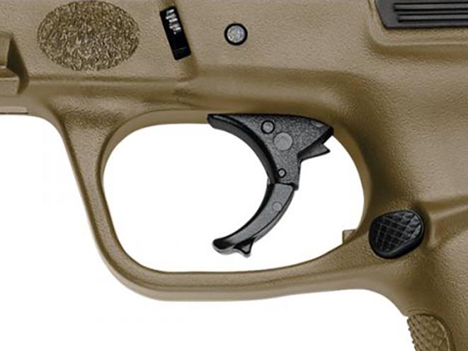 Smith & Wesson SD Flat Dark Earth trigger