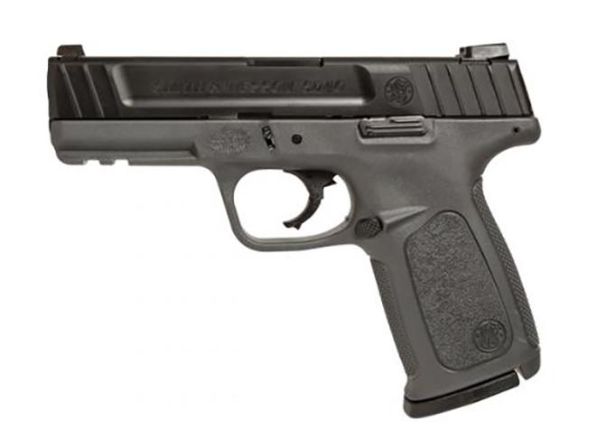 Smith & Wesson SD40 gray frame pistol