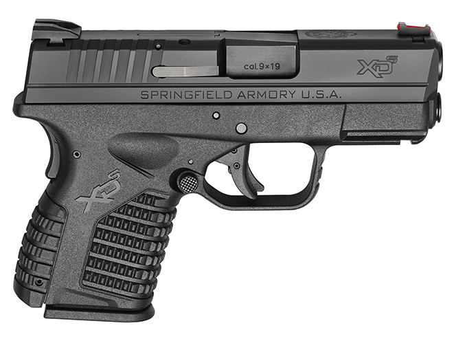 """Springfield XD-S 3.3"""" concealed carry handguns"""