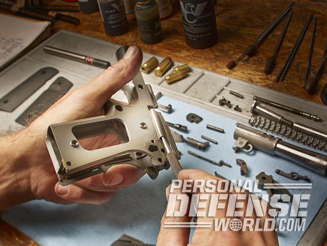 wilson combat tactical supergrade compact pistol build
