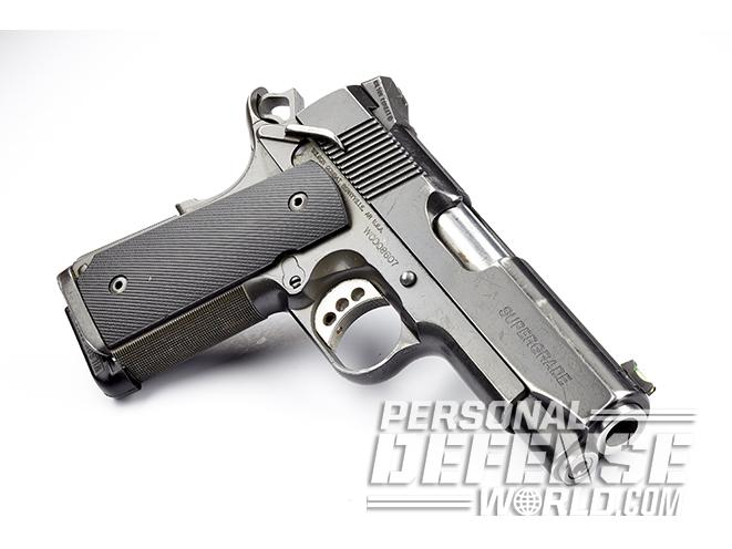 wilson combat tactical supergrade compact pistol left anglel