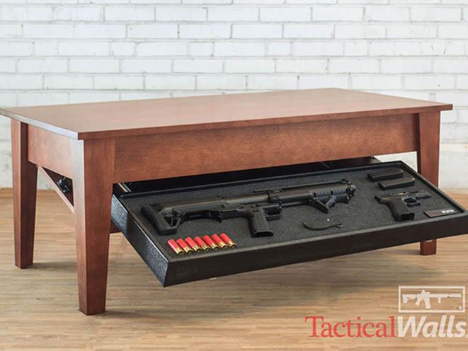 self defense gear Tactical Walls Concealment Coffee Table