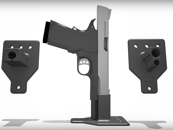 Cock Bloc slide rack assist mount