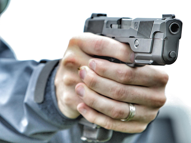 Hudson Manufacturing H9 pistol aim gun of the month