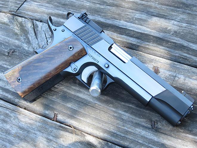 Chambers Custom Black Knight 1911 pistols