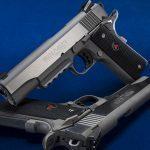 Colt Delta Elite Rail Gun 1911 pistols