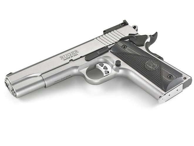 Ruger SR1911 Target 1911 pistols