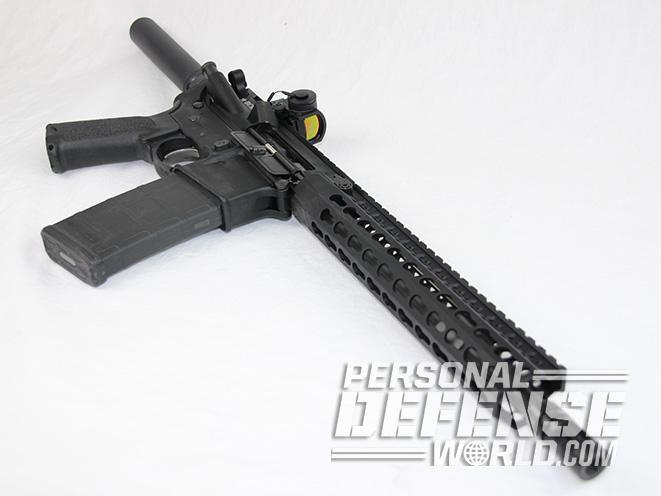 BCM RECCE-11 KMR-A pistol right angle