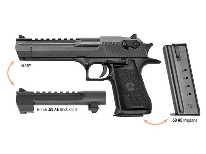 Magnum Research desert eagle pistol combo caliber package