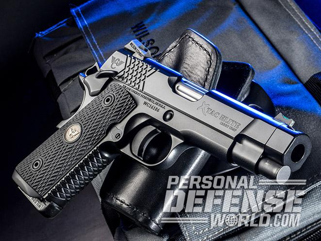 Wilson Combat X-TAC Elite Carry Comp pistol right angle
